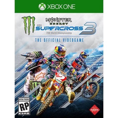 Monster Energy Supercross 3: The Official Video Game - Xbox One