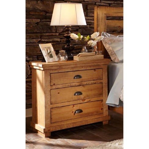 Willow Nightstand - Driftwood - Progressive Furniture - image 1 of 1