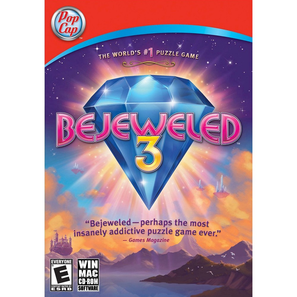 Bejeweled 3 - PC Game (Digital)