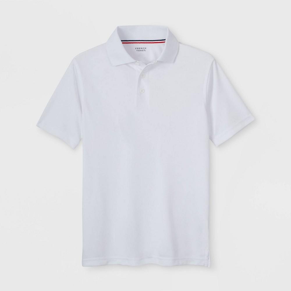 Best Discount French Toast Boys Sport Uniform Polo Shirt White M