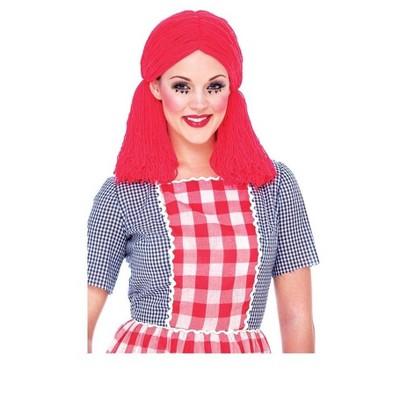 Paper Magic Group Rag Doll Adult Costume Wig