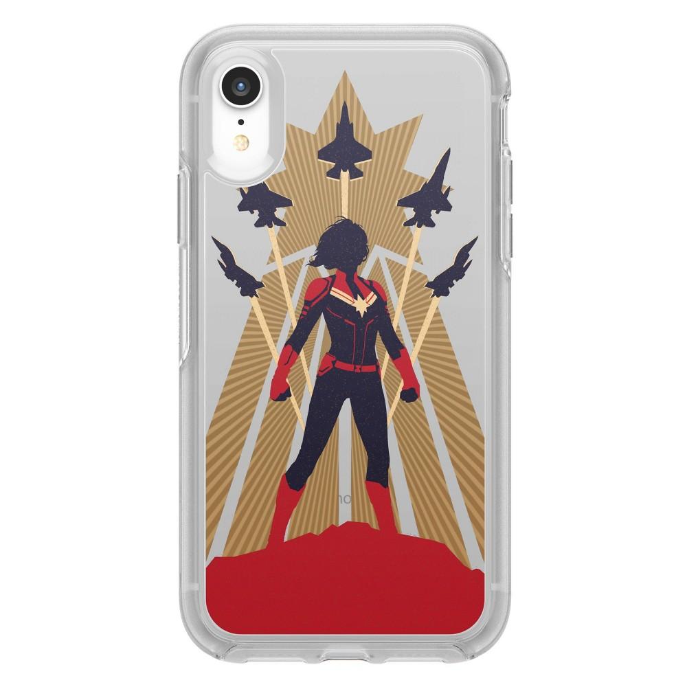 OtterBox Apple iPhone XR Marvel Symmetry Clear Case - Captain Marvel
