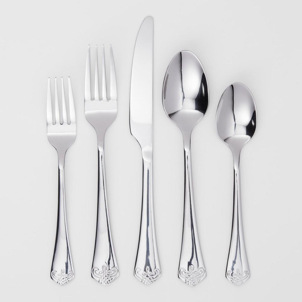Silverware Set - Threshold, Silver