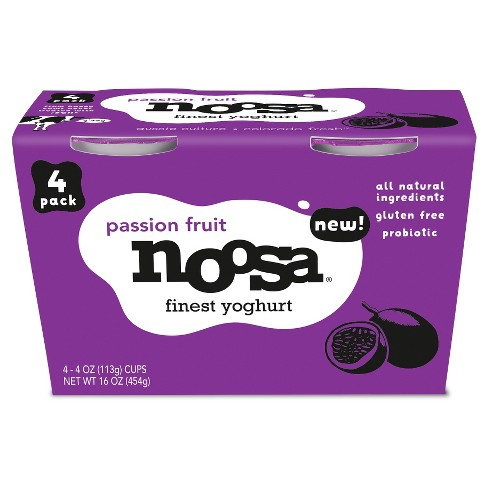 Noosa Passion Fruit Australian Style yogurt - 4oz - image 1 of 2