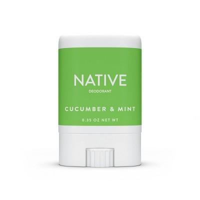 Native Cucumber & Mint Mini Deodorant for Women -  Trial Size - 0.35oz