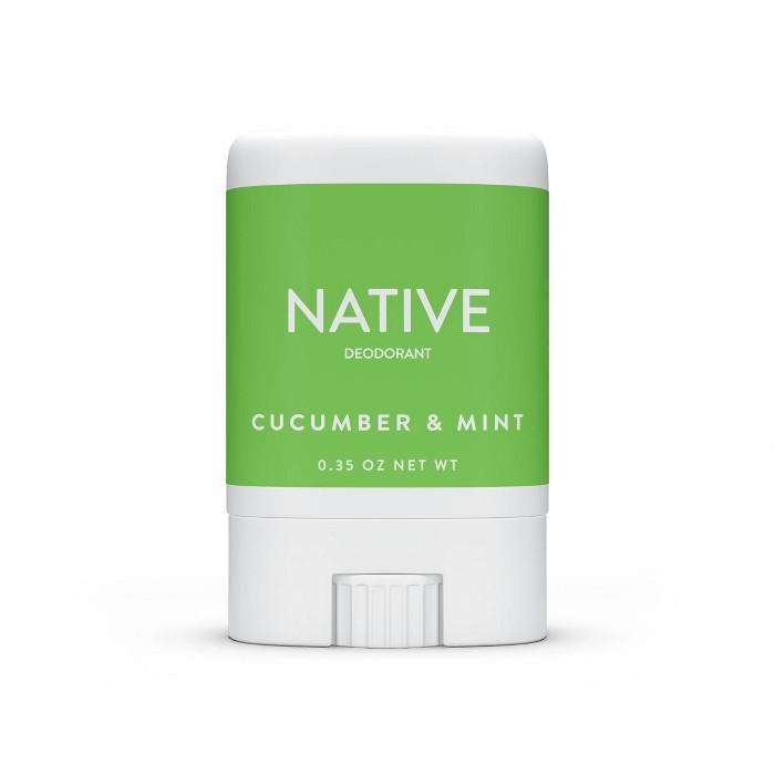 Native Cucumber & Mint Mini Deodorant For Women - Trial Size - 0.35oz : Target
