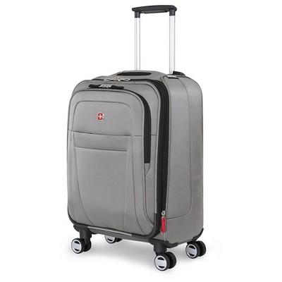 SwissGear Zurich 20  Pilot Case Carry On Suitcase - Pewter