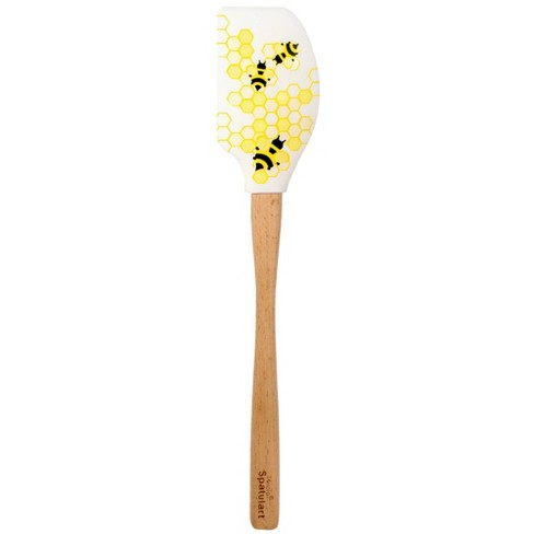 Tovolo Spatulart Wood Handled Honeycomb Bee Spatula Assorted - image 1 of 2