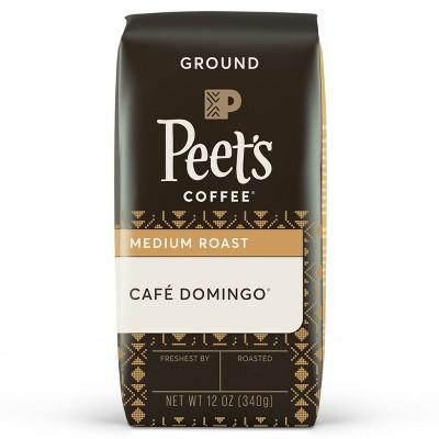 Peet's Café Domingo Medium Roast Ground Coffee - 12oz