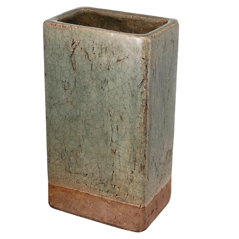 "Slate Gray Vase (12"") - AB Home Inc. - image 1 of 2"
