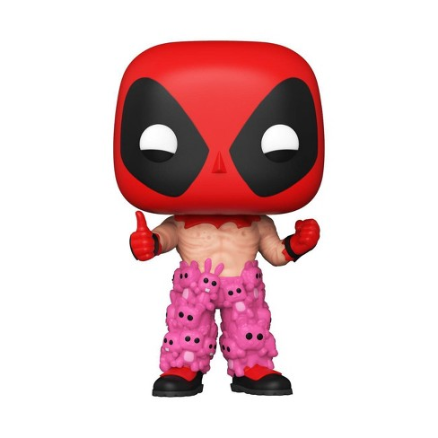 Funko POP! Deadpool - Deadpool with Teddy Bear Pants (ECCC 2021 Shared Exclusive) - image 1 of 2