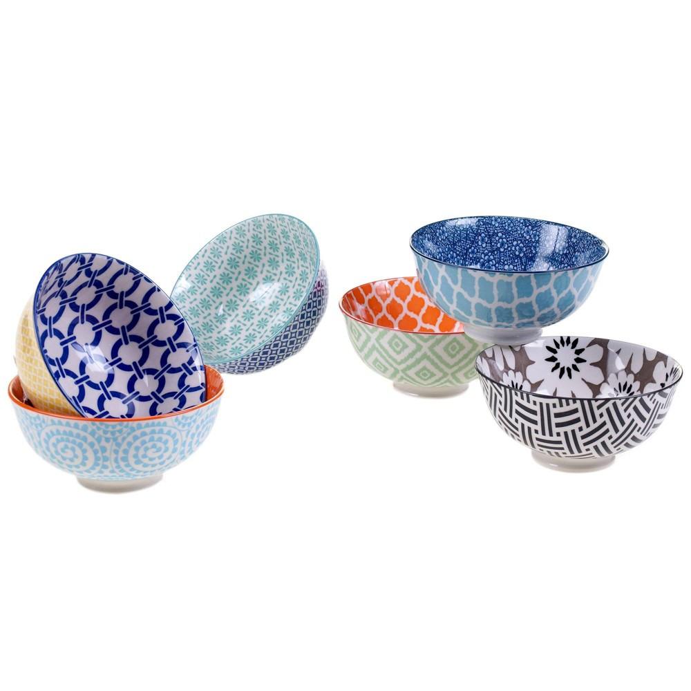 Image of 10oz 6pk Porcelain Chelsea Snack Bowls - Certified International