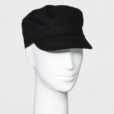 2ace7244fe0 Women s Twill Engineer Captain Cadet Hat - Universal Thread™ Black