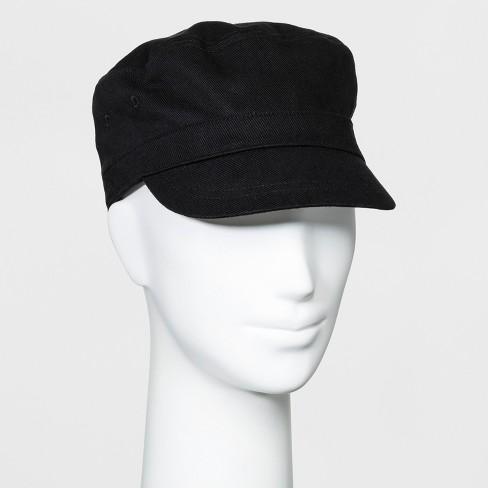 e18670e9 Women's Twill Engineer Captain Cadet Hat - Universal Thread™ Black ...