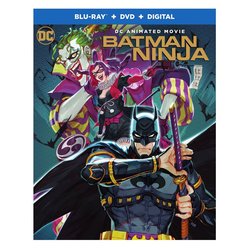 Batman Ninja (Blu-ray/Dvd/Digital)