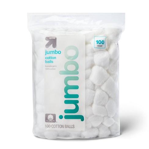 Jumbo Cotton Balls - up & up™ - image 1 of 3