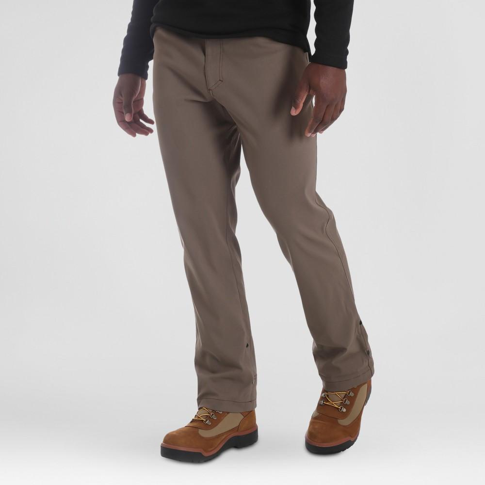 Wrangler Men's Outdoor Stretch Nylon Utility Pants - Bison 30x32