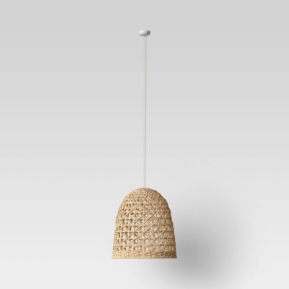 Image of Large Seagrass Light Pendant Light Brown (Includes Energy Efficient Light Bulb) - Opalhouse