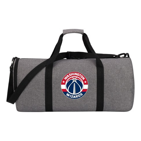 fd399306e1 NBA Washington Wizards Gray Barrel Duffel Bag   Target