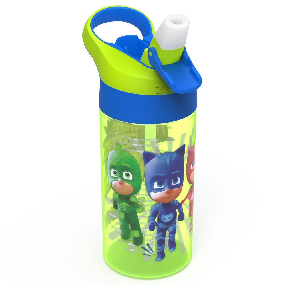 Pj Masks 17 5oz Plastic Water Bottle Green Blue Zak Designs