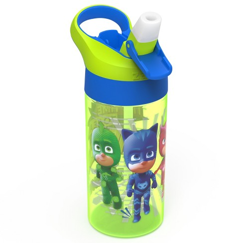 PJ Masks 17.5oz Plastic Water Bottle - Green/Blue - Zak Designs - image 1 of 3