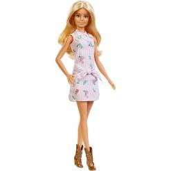 Barbie Fashionistas Doll #119 Pink Shirt Dress