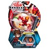 "Bakugan Ultra Pyrus Cyndeous 3"" Collectible Action Figure and Trading Card - image 2 of 4"
