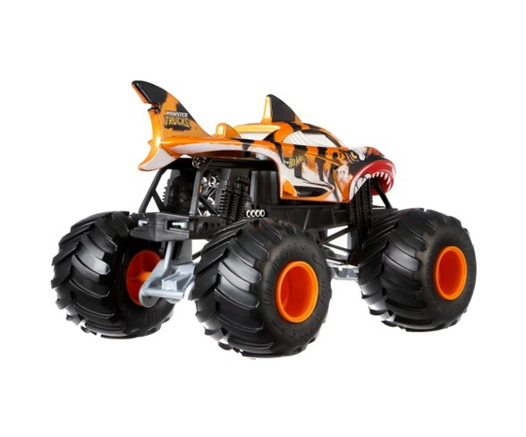 Hot Wheels Monster Trucks Shark Wreak Tiger Shark Truck Buy Online In Antigua And Barbuda Hot Wheels Products In Antigua And Barbuda See Prices Reviews And Free Delivery Over Ex 180 Desertcart