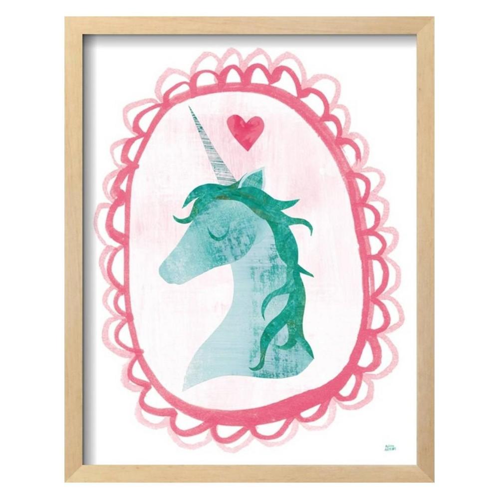Unicorn Magic II with Border By Melissa Averinos Framed Wall Art Poster Print 16