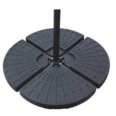 Fillable Offset Umbrella Base - Black - Backyard Expressions
