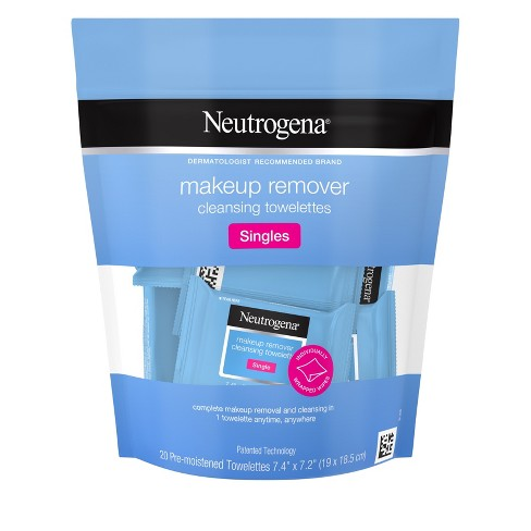 Neutrogena Cleansing Facial Wipes Individually Wrapped - 20ct - image 1 of 8