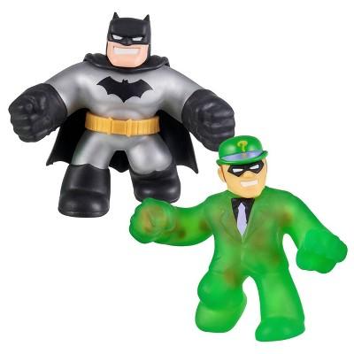 Heroes of Goo Jit Zu DC Versus Pack - Metallic Batman VS. The Riddler