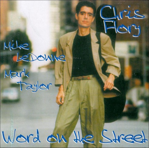 Chris flory - Word on the street (CD) - image 1 of 1
