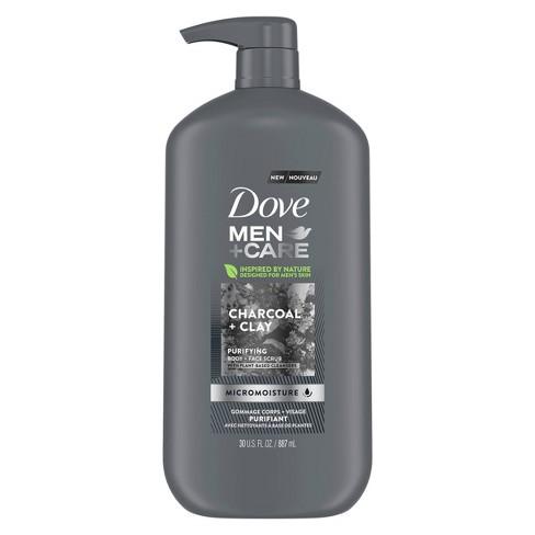 Dove Men S Charcoal Clay Body Wash Pump 30 Fl Oz Target