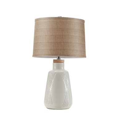 Tate Table Lamp Ivory 24.5  (Lamp Only)