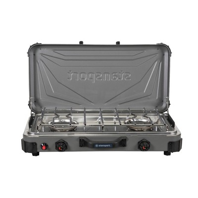 Stansport Boulder Series 2-Burner Propane Stove
