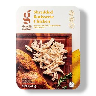 Shredded Rotisserie Chicken - 12oz - Good & Gather™