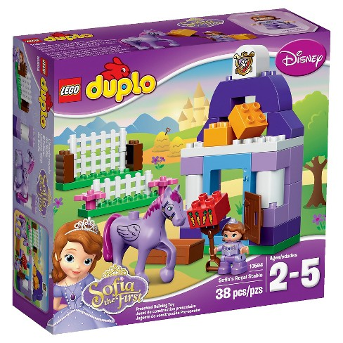 LEGO® DUPLO® Disney Sofia the First™ Sofia the First Royal Stable 10594 - image 1 of 13
