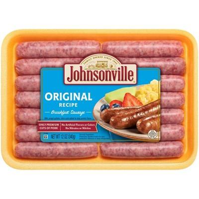 Johnsonville Original Recipe Breakfast Sausage - 12oz