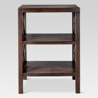 Threshold Owings End Table with 2 Shelves Deals