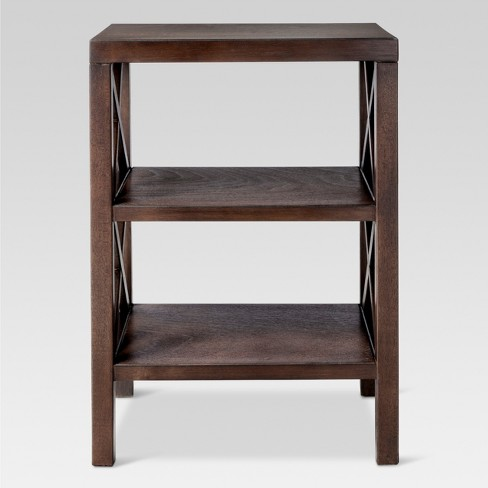 Owings End Table with 2 Shelves - Threshold™ - image 1 of 4
