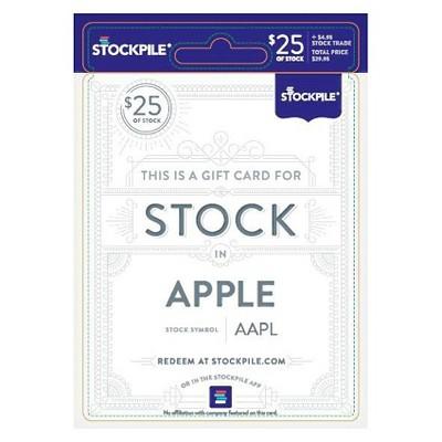 Stockpile Apple $25