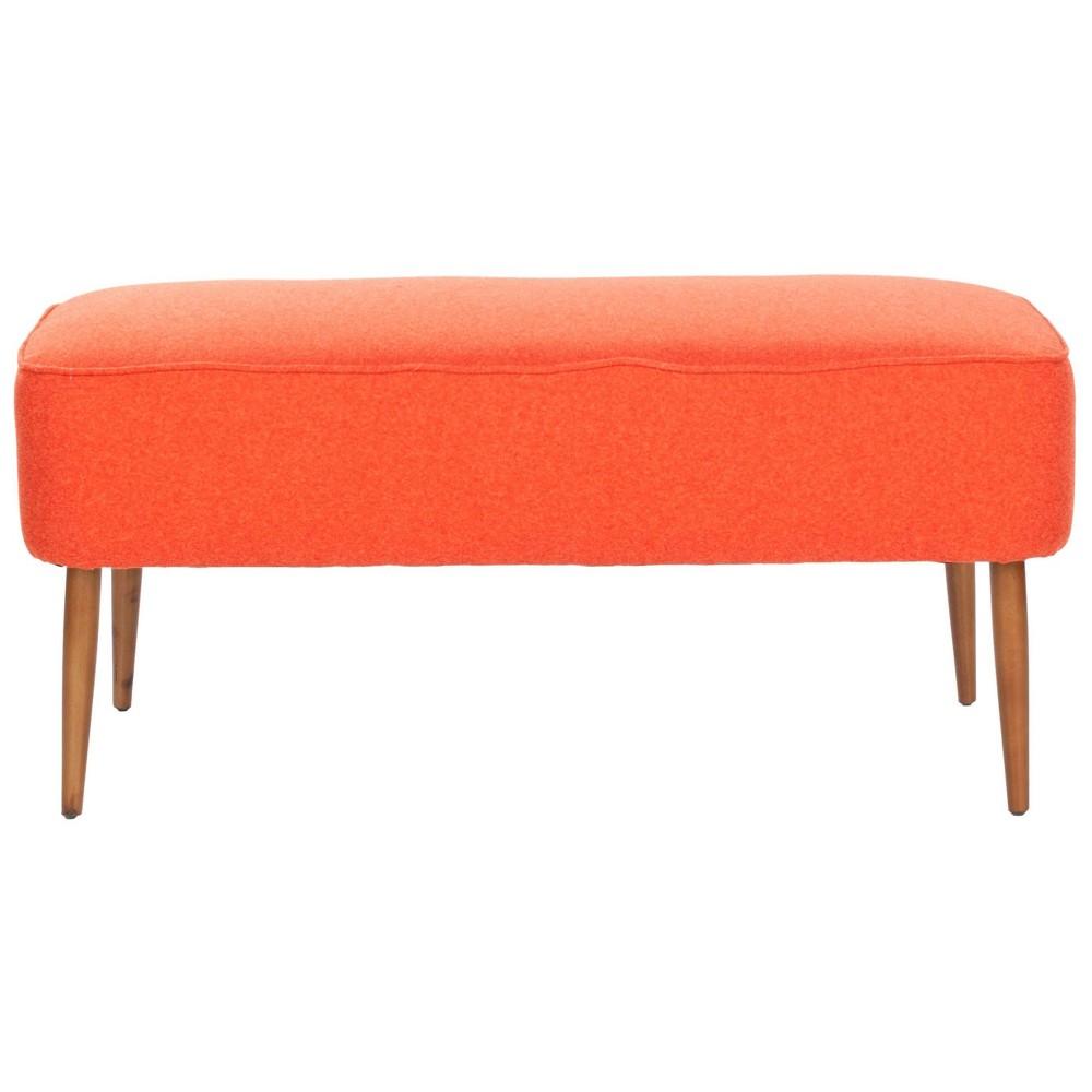 Sullivan Bench - Orange - Safavieh