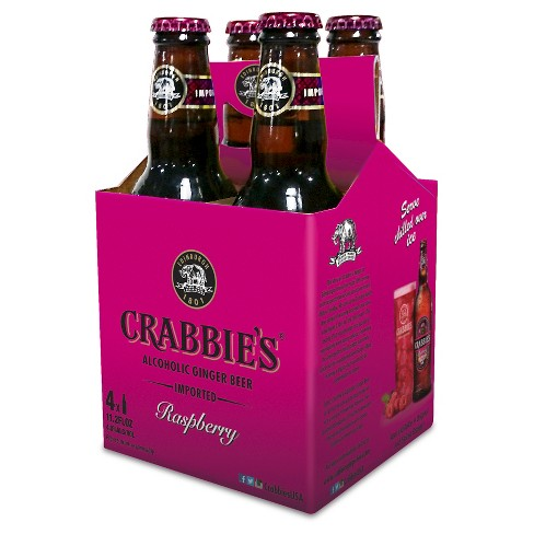 Crabbie's® Raspberry Ginger Beer - 4pk / 11oz Bottles - image 1 of 1