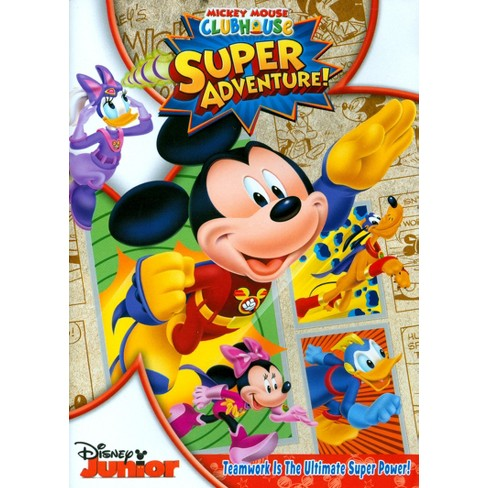Mickey Mouse Clubhouse: Super Adventure [With Card Set] - image 1 of 1