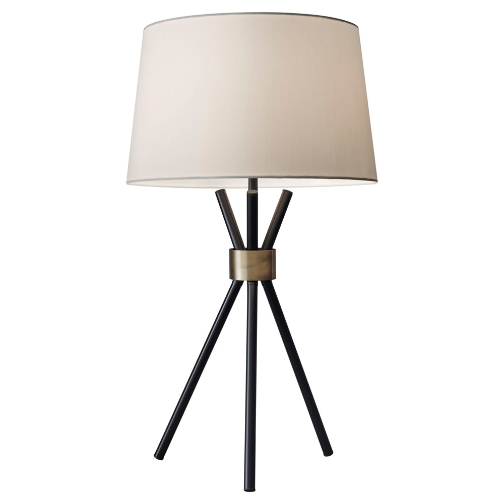 Image of Adesso Benson Table Lamp - Black
