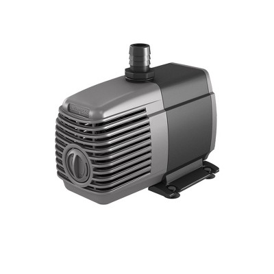 Active Aqua AAPW550 33-Watt 550 GPH Submersible Indoor/Outdoor Hydroponic Aquarium Pond Water Pump with 6ft Power Cord for 55 Gallon Reservoirs