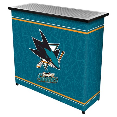 San Jose Sharks 2 Shelf Portable Bar with Case - image 1 of 1