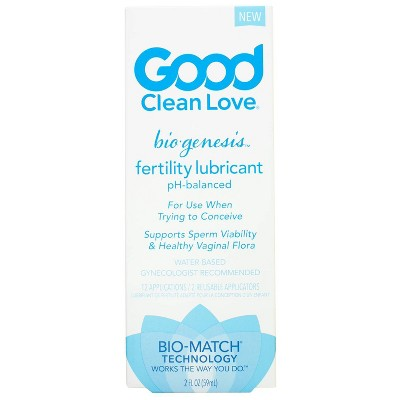 Good Clean Love BioGenesis Fertility Lube -  2oz