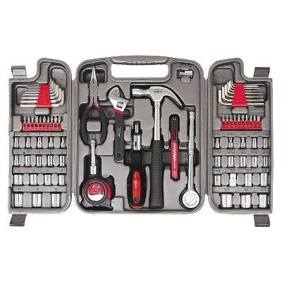 Apollo Tools 79pc Multi Purpose Tool Kit DT9411 Red